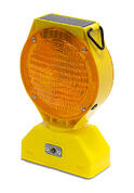 Solar LED Amber Barricade Light