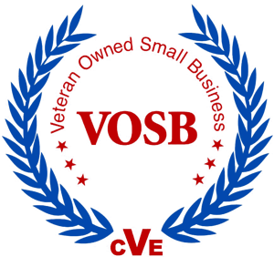 VOSB - Veteran Owned Small Business logo