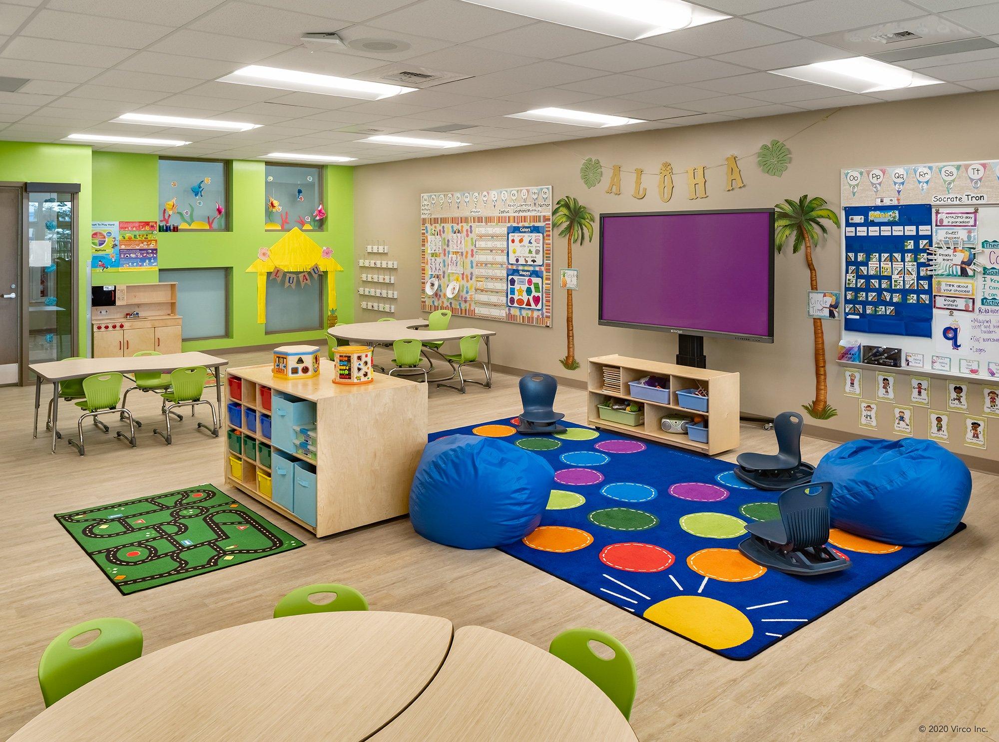 Classrooms_Virco_Gerald Adams Elementary School_1