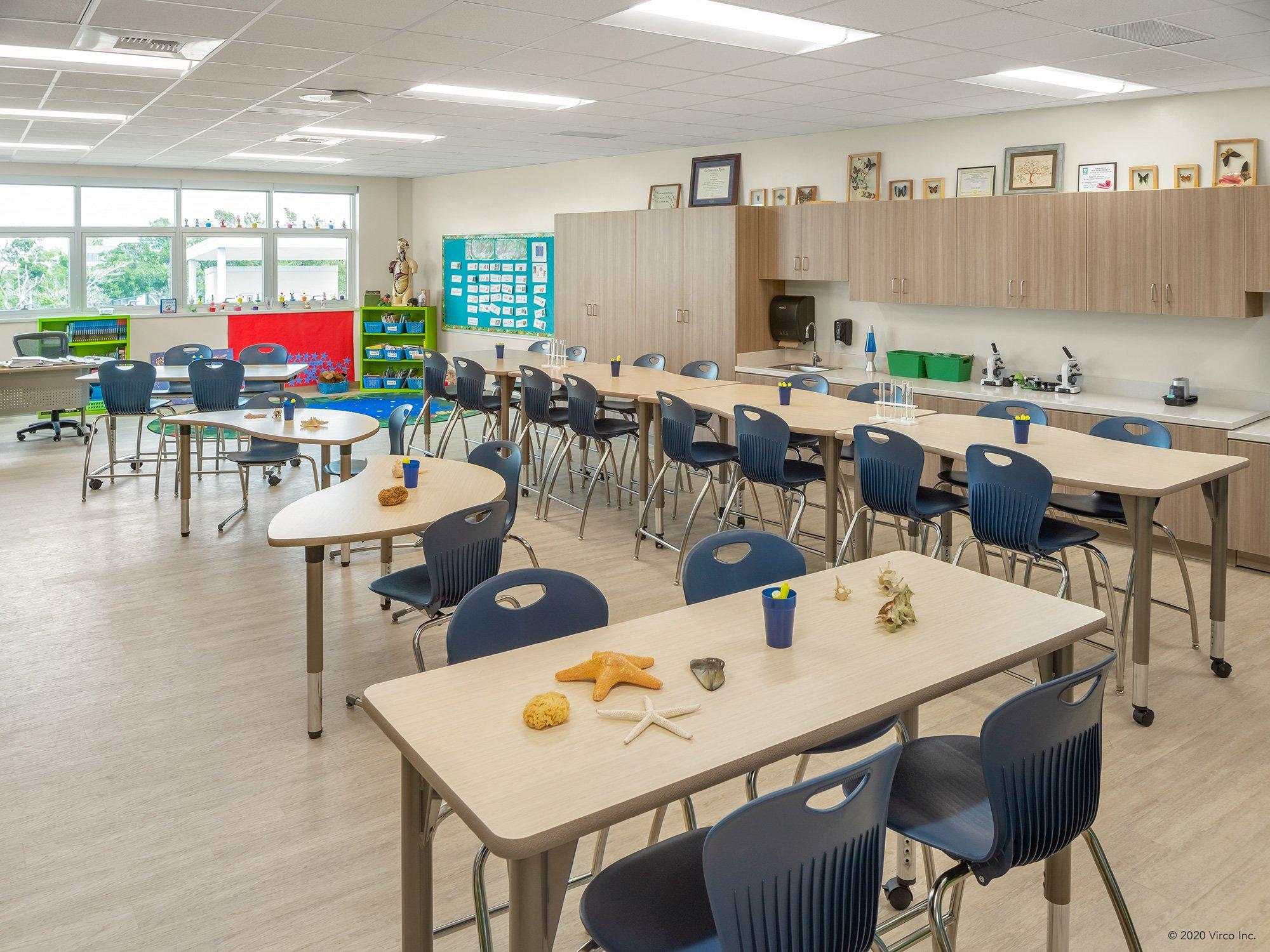 Classrooms_Virco_Gerald Adams Elementary School_3