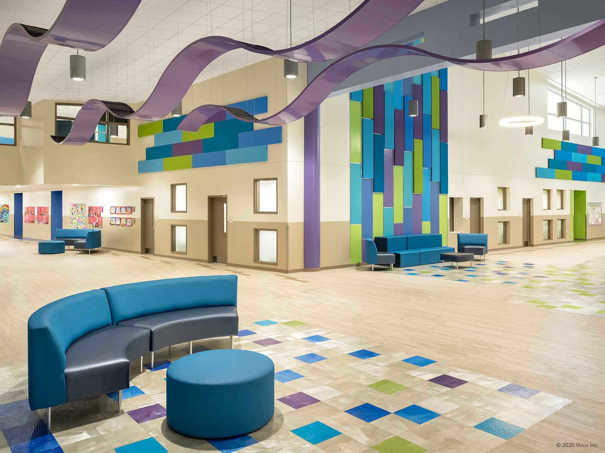 Commons Areas_Virco_Gerald Adams Elementary School_1