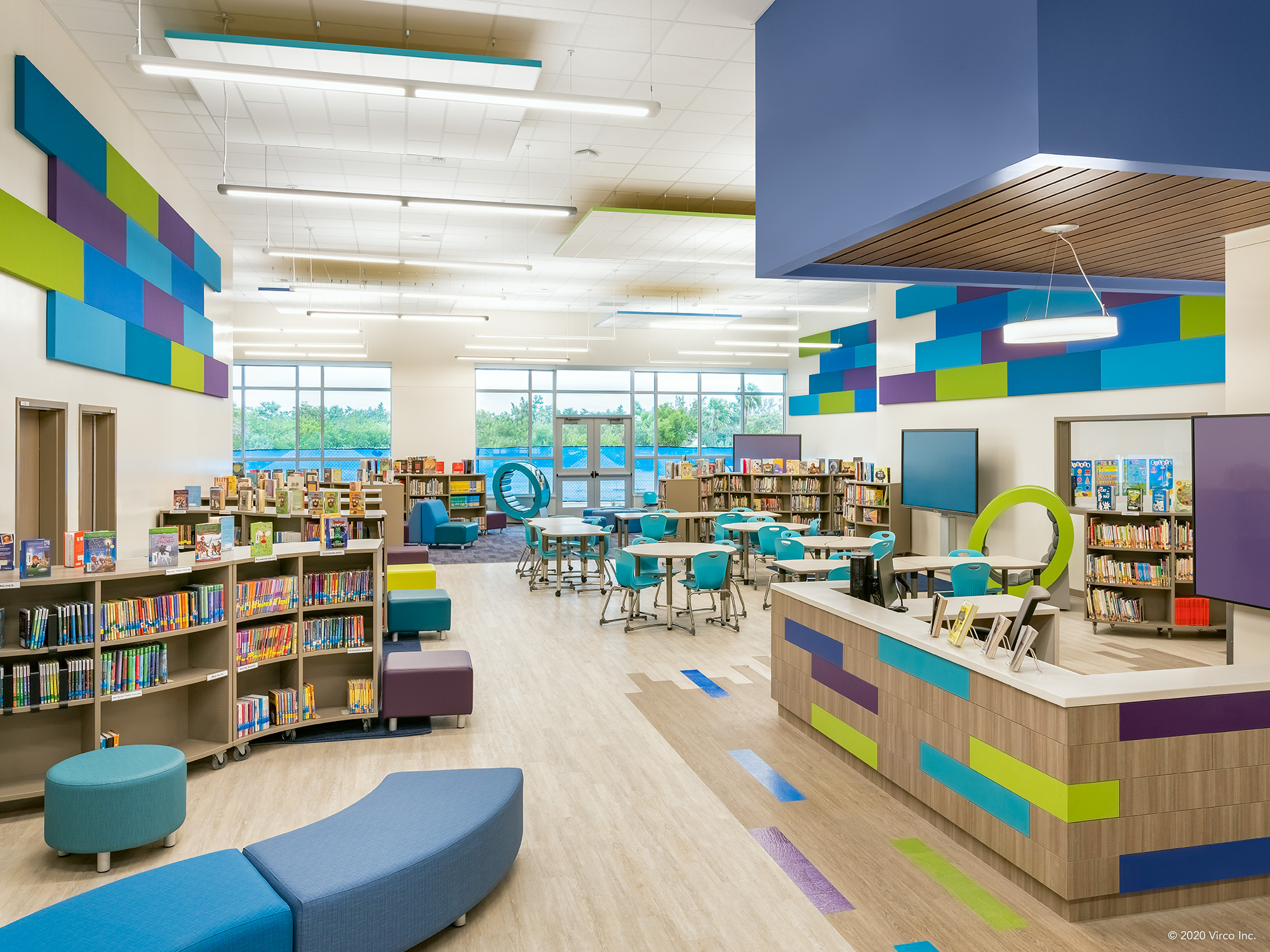 Media-Center_Virco_Gerald-Adams-Elementary-School_1