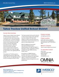 PUBLIC | Supplier Page | WESCO | tahoe screenshot