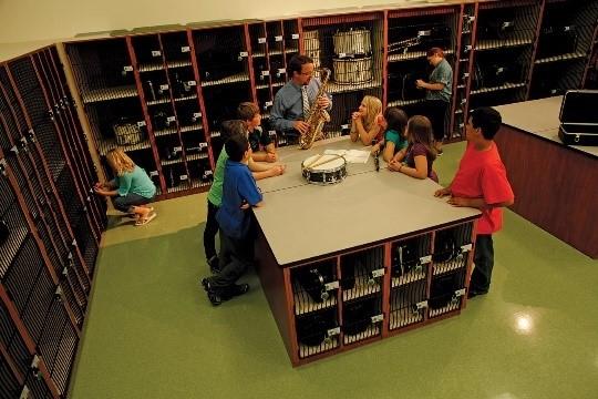 instrument storage cabinets