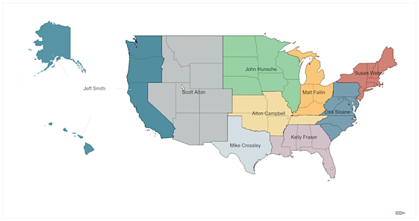 2019 Higher Ed Map