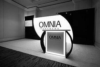 OMNIA Partners conference booth