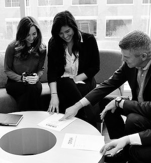 OMNIA Partners team members reviewing a contract