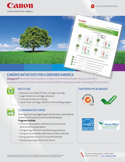 CSA Environmental Flyer