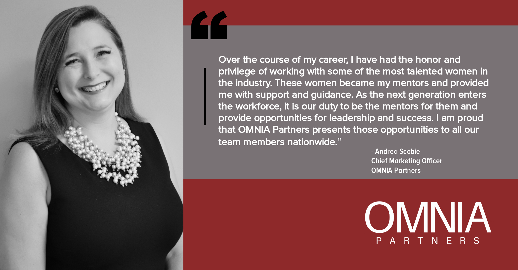 OMNIA Partners Celebrates Women's Month
