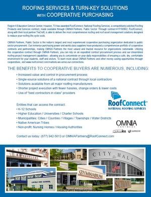 RoofConnect Rebranded Flyer