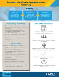 UC-OMNIA Partners Partnership Flyer