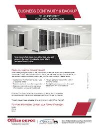 business continuity and backup