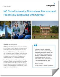 Graybar Case Study NC State University