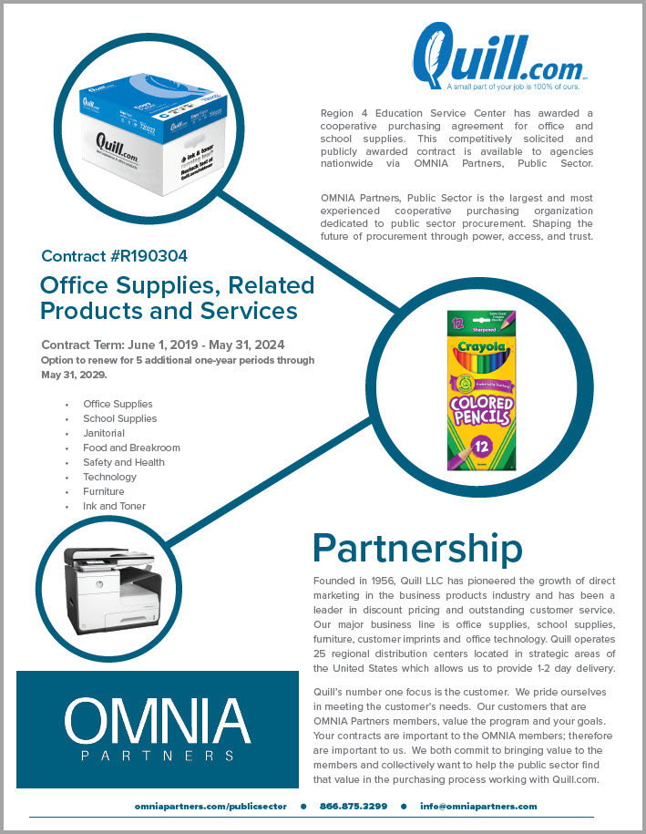 screenshot of co-branded flyer