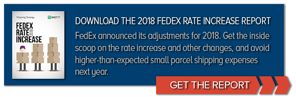 Download the 2018 FedEx Rate Increase Report