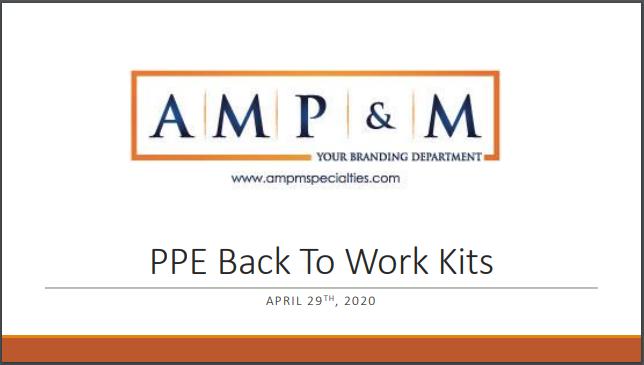 Back to Work Kits
