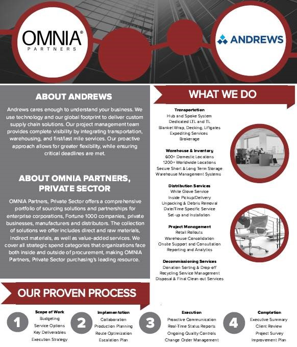 Andrews Moving & OMNIA Partners Overview