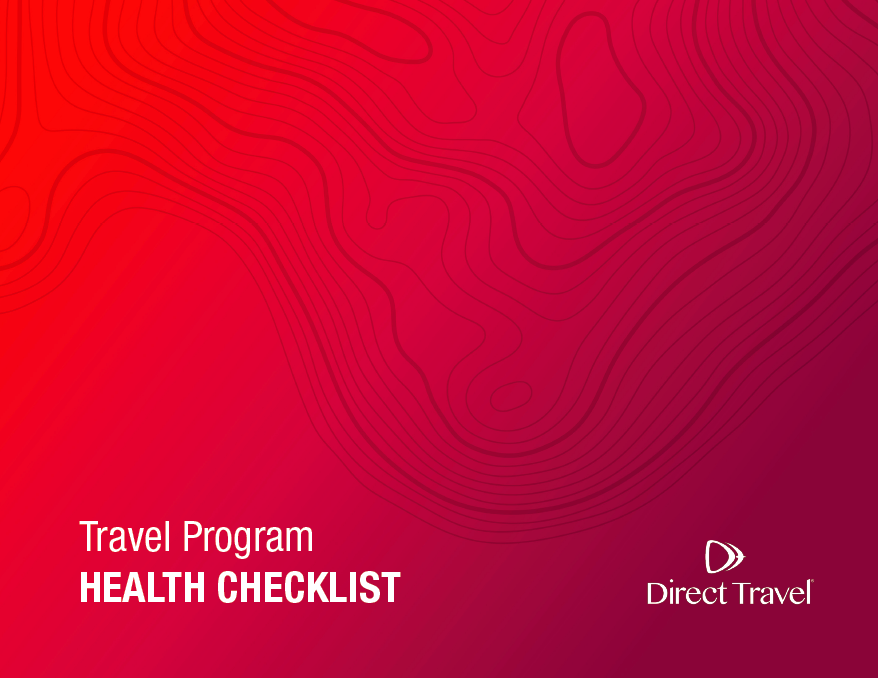 Travel Program Health Checklist