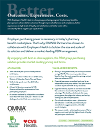 Employers Health Value Sheet