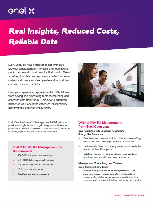 Real Insights, Reduced Costs, Reliable Data