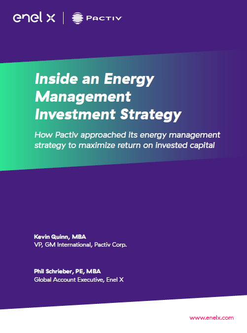 Inside an Energy Management Investment Strategy