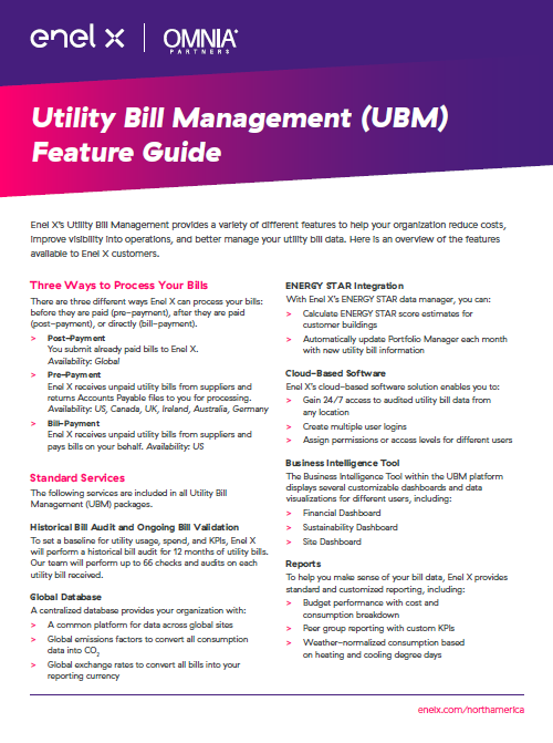Utility Bill Management