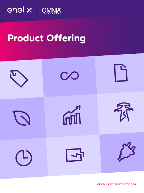 Enel X Product Catalog