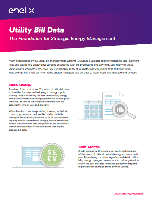 Utility Bill Data: The Foundation for Energy Management