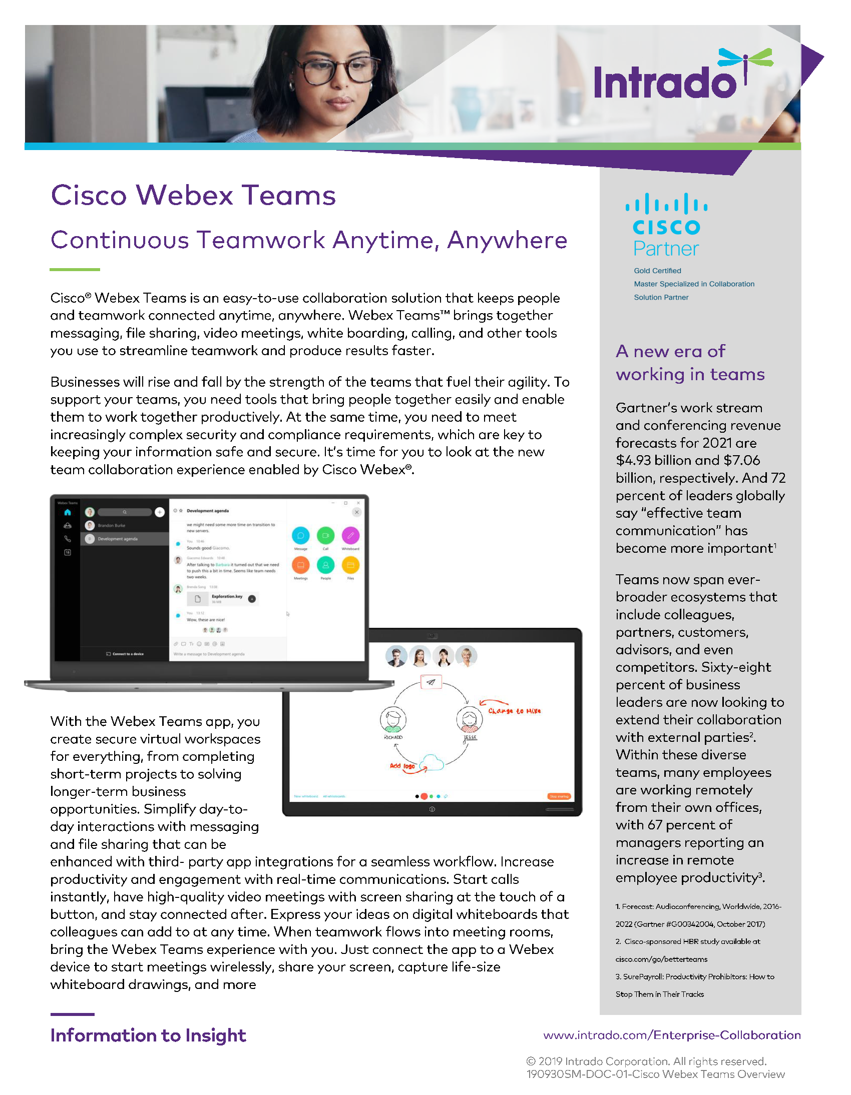 Cisco Webex Teams Overview