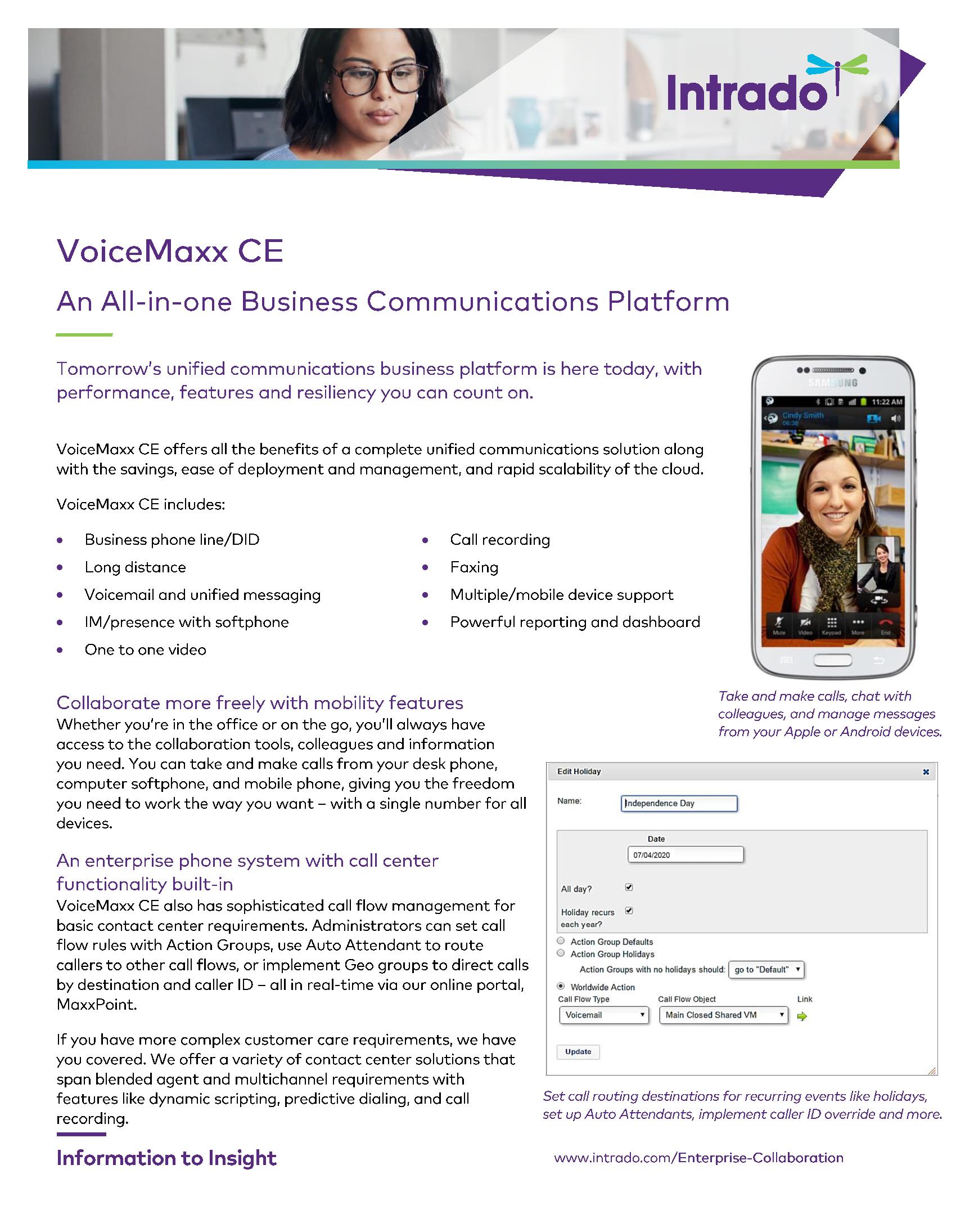 VoiceMaxx CE