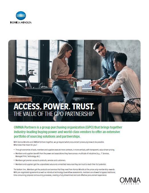 Konica Minolta | OMNIA Partners Overview