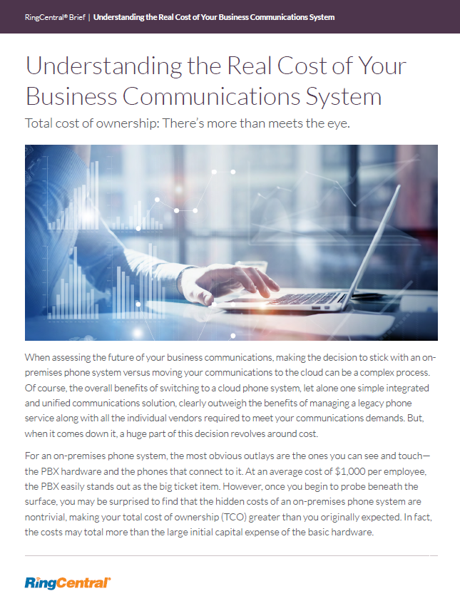 Cost of Business Communications Systems