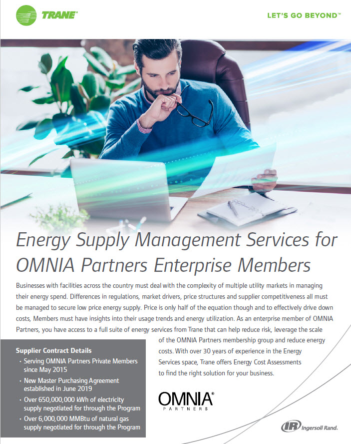 Energy Supply Management Services for Enterprise Members