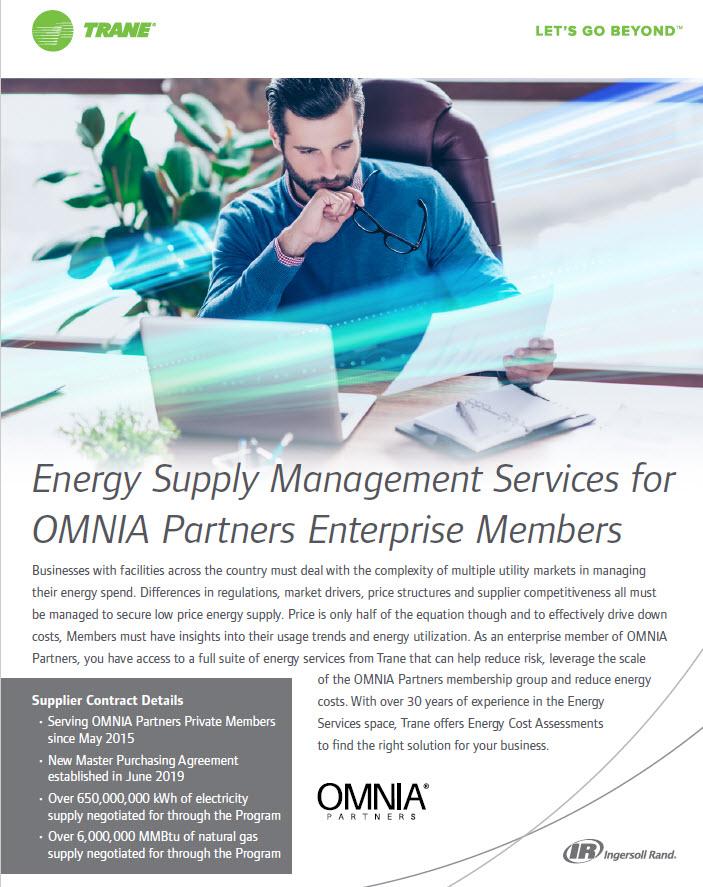 Energy Supply Management for Enterprise Members