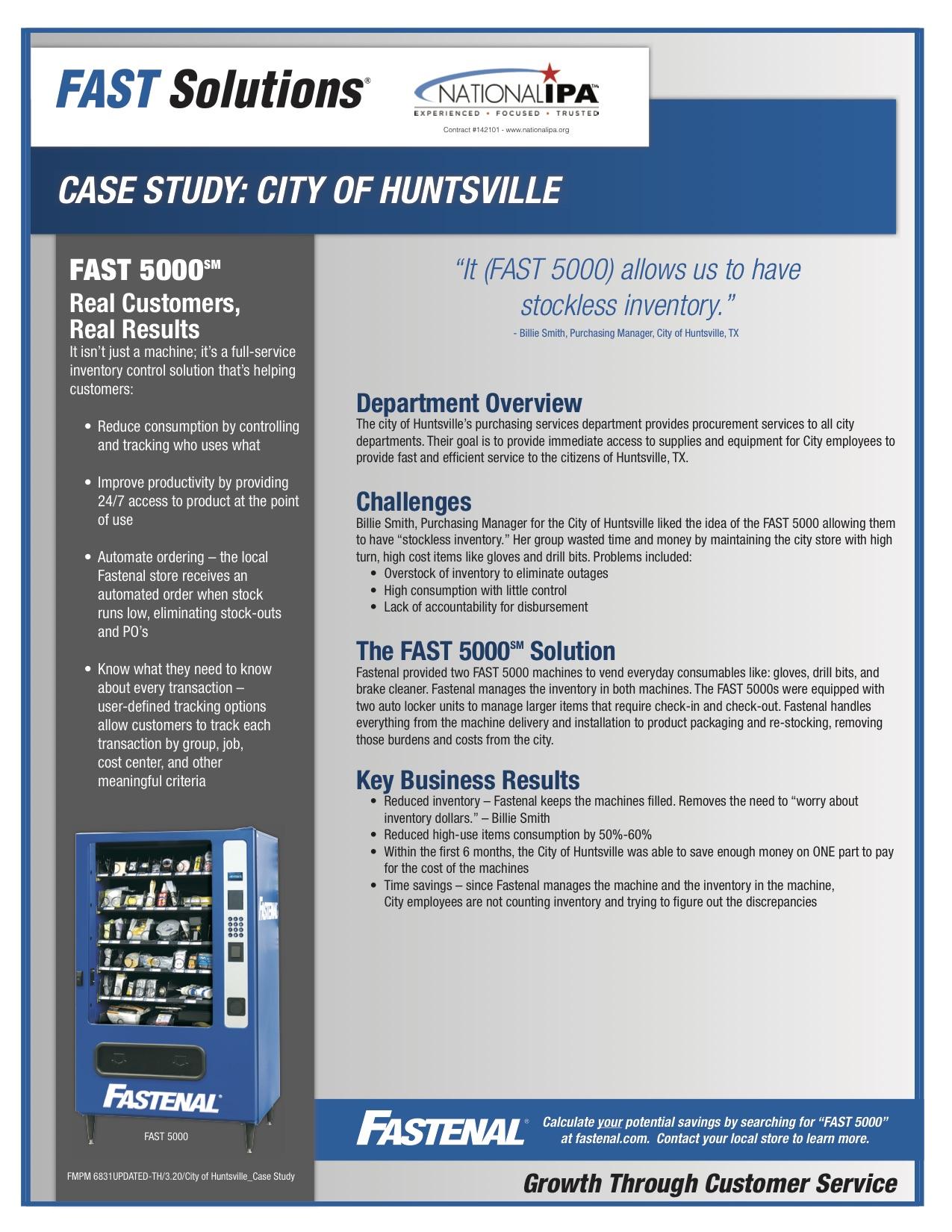 City of huntsville