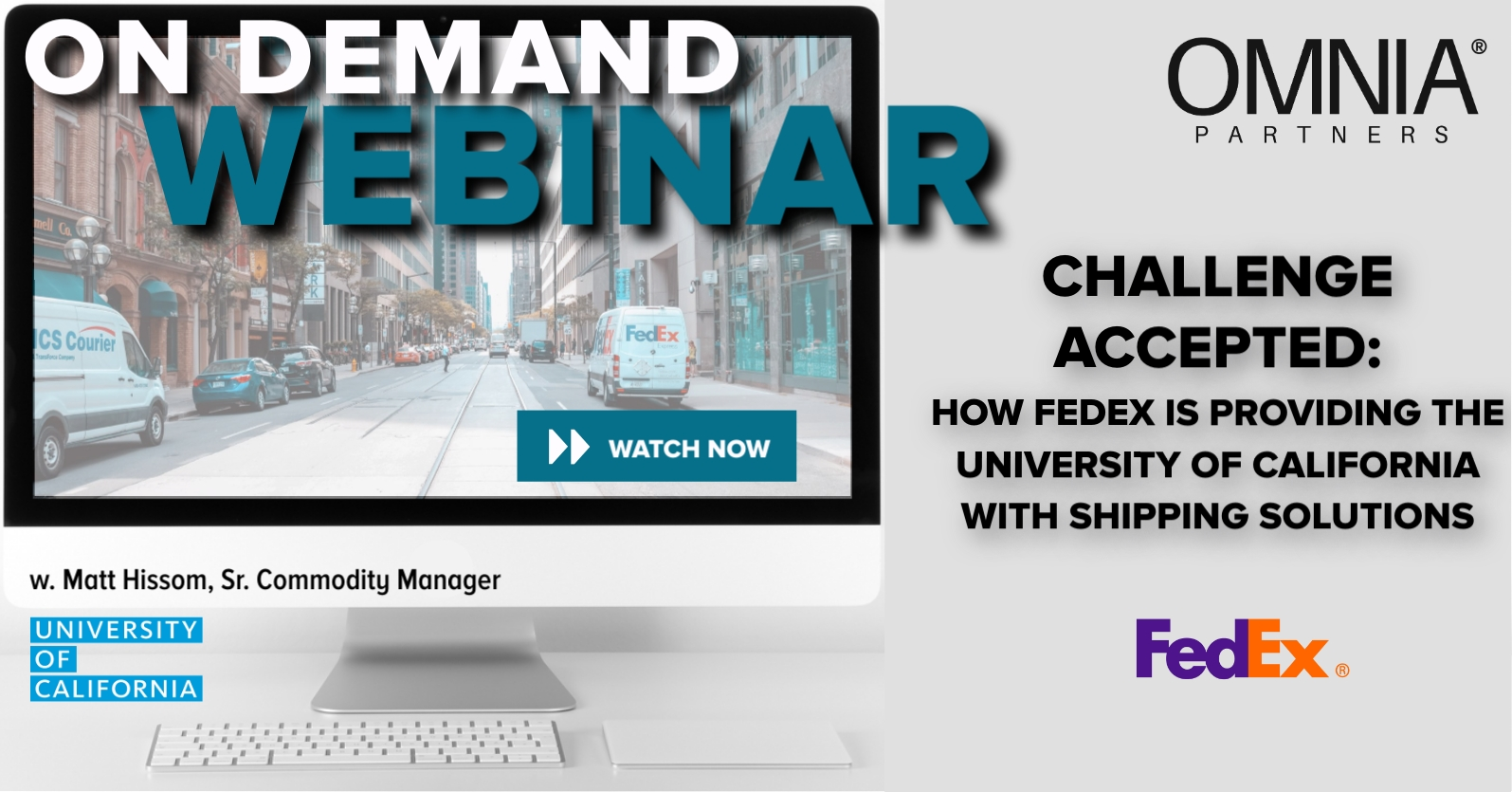 FedEx - Post Webinar social