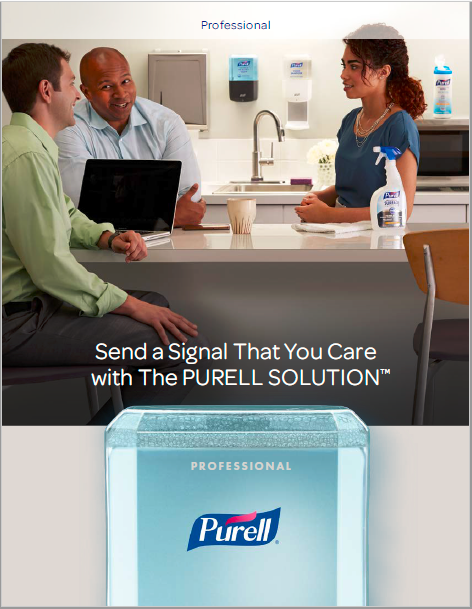 PURELL SOLUTION Professional Brochure