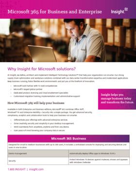 Microsoft 365 Flyer