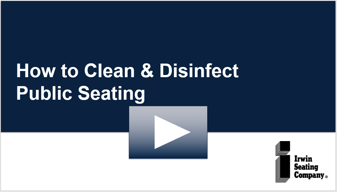 Clean Public Seating On Demand Video