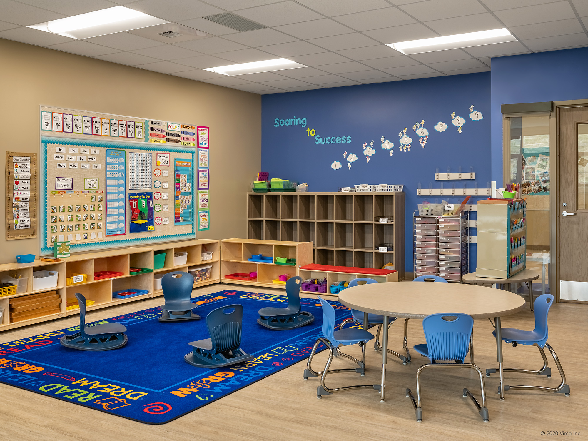 Classrooms_Virco_Gerald Adams Elementary School_2