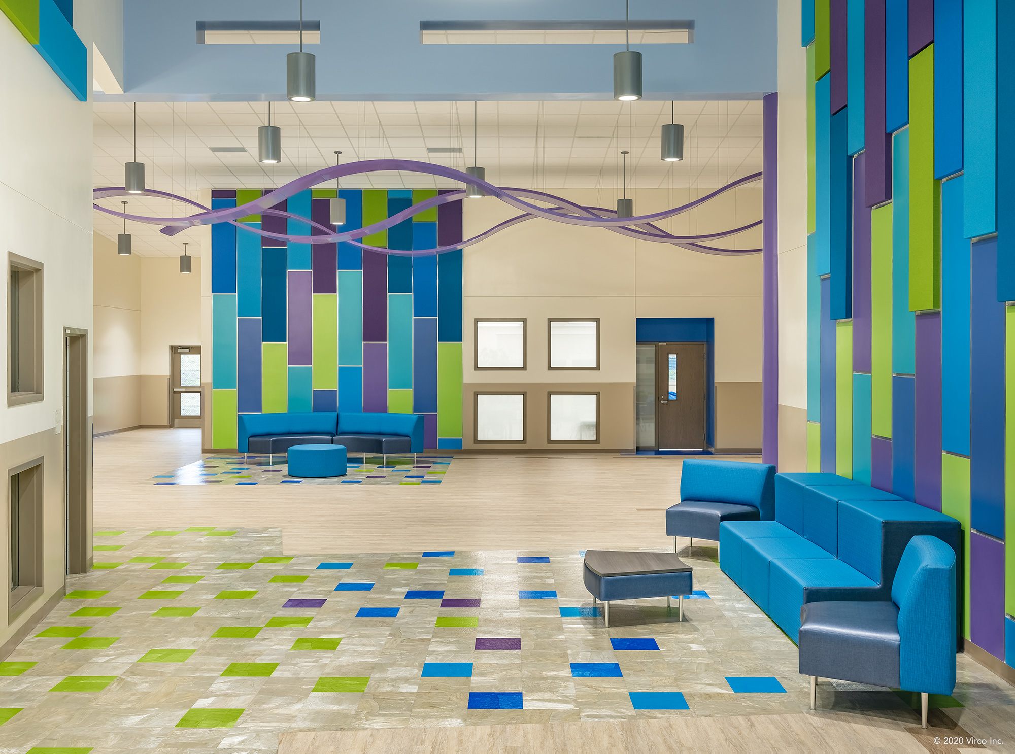 Commons Areas_Virco_Gerald Adams Elementary School_2
