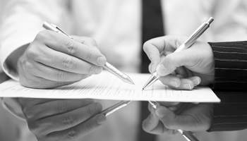 Cooperative Purchasing Professionals Executing a Contract