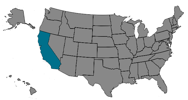 Region California Map