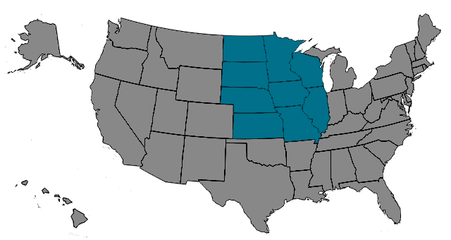 Region Heartland Map