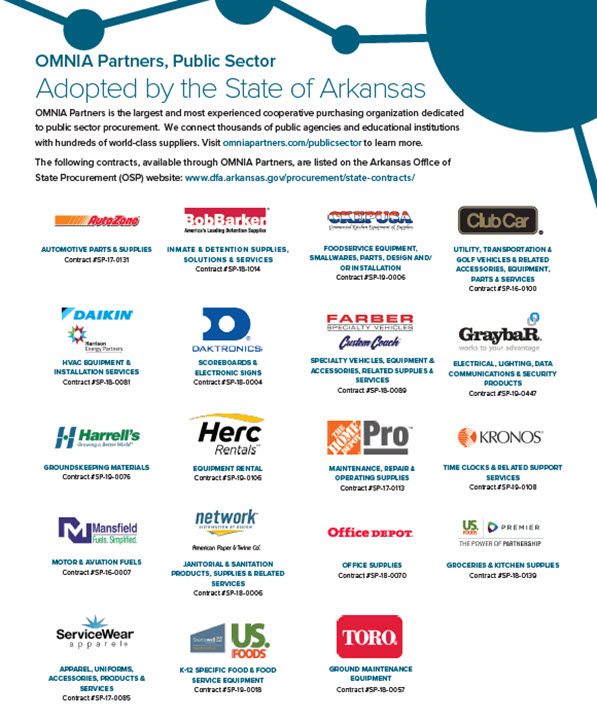 Arkansas Adopted<br>Contracts Flyer