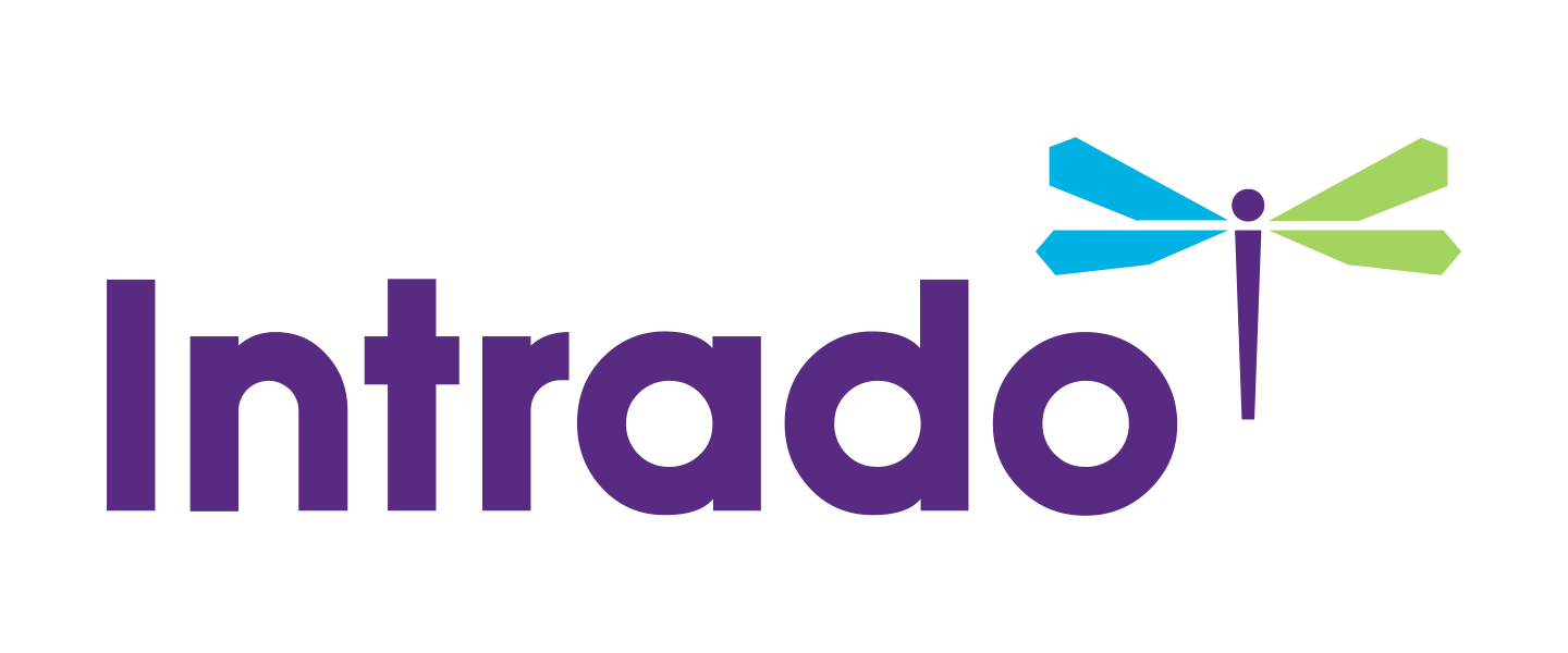 Intrado (formerly West UC) logo