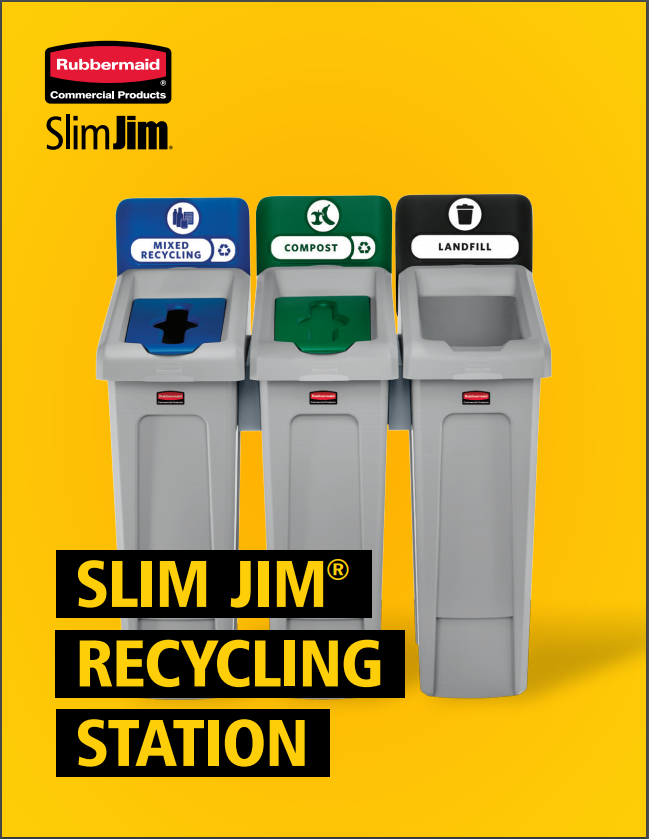 Slim Jim Recycling Station